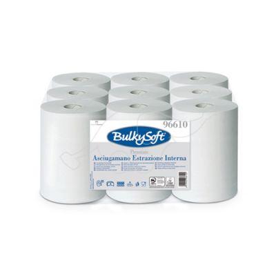 BulkySoft Premium roku dvieļi ar reljefu 2 slāņi, 60m, balti