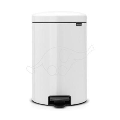 Brabantia waste bin 20L Newicon, white