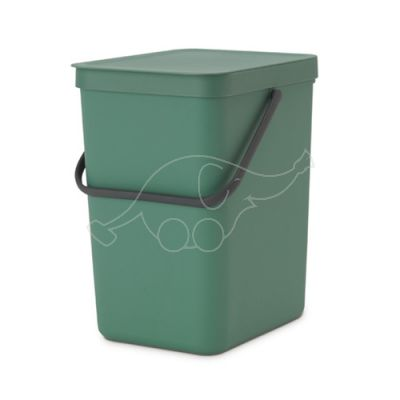 Brabantia dust bin 25L Sort & Go, green