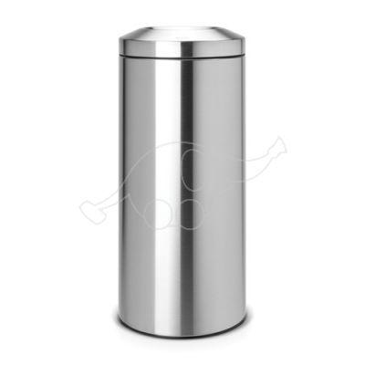 Brabantia dust bin 30 flameguard, matt steel