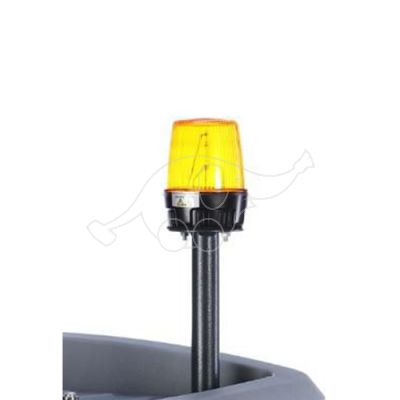 HAKO brīdinājuma signāllampa uz kāta, mirgojoša, dzelt. B120