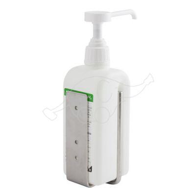 Wall mount stainless steel for 0,5 - 1L bottle Chemi-Pharm