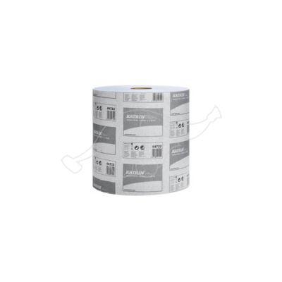 Katrin Plus L2 2-slāņu industriālais papīrs rullī zils 350m