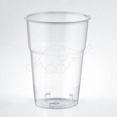Joogitops ühek.läbipaist. 50tk/pk 200ml KRISTALL