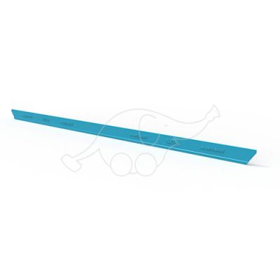 Moerman Liquidator NXT-R replacement rubber 25cm, turquoise