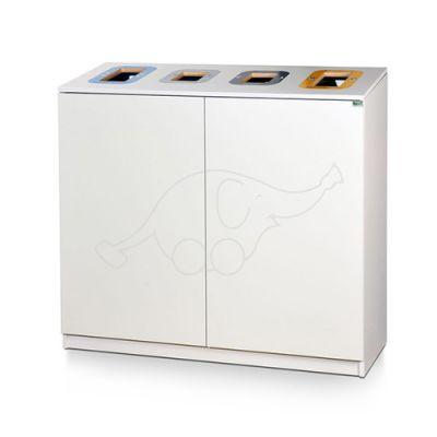 Longopac Bin Multi 4 W1075xD440xH1000 mm white