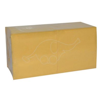 Napkin 24x24cm 1-ply yellow