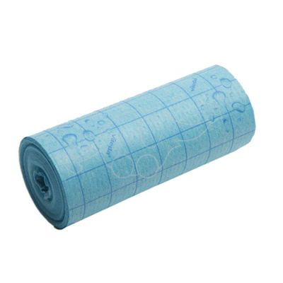 Apsorbējoša drāna rullī Vileda Quick n Dry zila, 10m