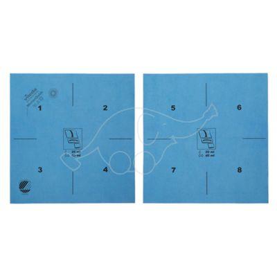 Vileda MicronQuick Mikrošķiedras drāna, zila, 40x38cm AR INSTRUKCIJU