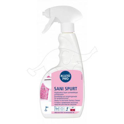 Kiilto SaniSpurt 0,75l Ready-to-use sanitary cleaner