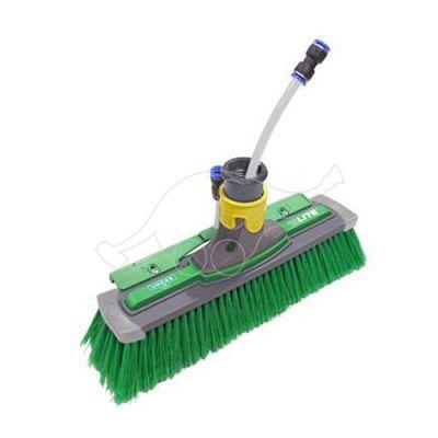 Unger HiFlo nLite Power Brush complete 28cm, green