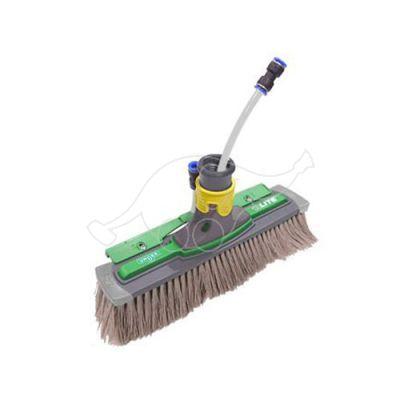 Unger HiFlo nLite Power Brush complete 28cm, grey