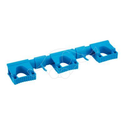 Vikan Hi-Flex Wall Bracket System 3+2, 420 mm, Blue