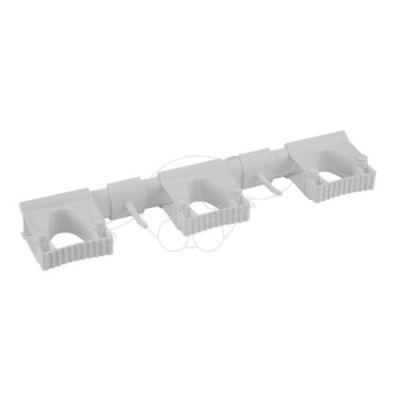 Vikan Hi-Flex Wall Bracket System 3+2, 420 mm, White