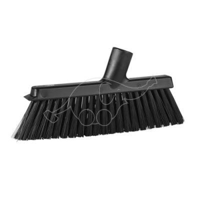 Vikan Dustpan Broom , 250 mm, Medium, black