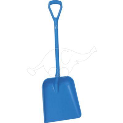 Vikan Shovel D grip 1035mm, large deep blade34mm, blue