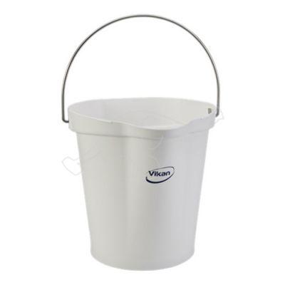 Vikan bucket 12L,  White
