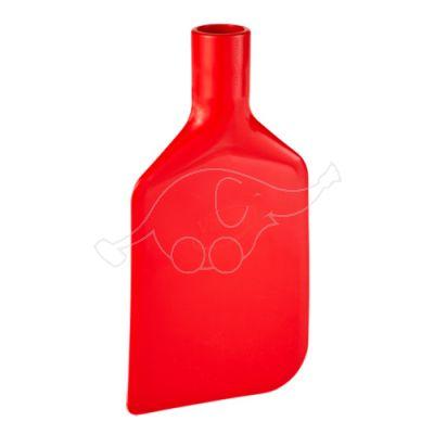 Vikan Paddle Scraper Blade, flexible, 220 mm, red