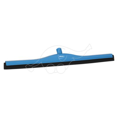 Vikan Squeegee 700mm black rubber/blue