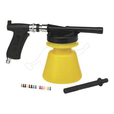 """Vikan 1,4L foam sprayer, rincl. jet spray, 1/2""""(Q),  yellow"""