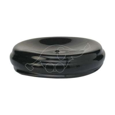 Plastic lid for container, Black
