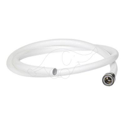 Outlet hose 1500mm, White