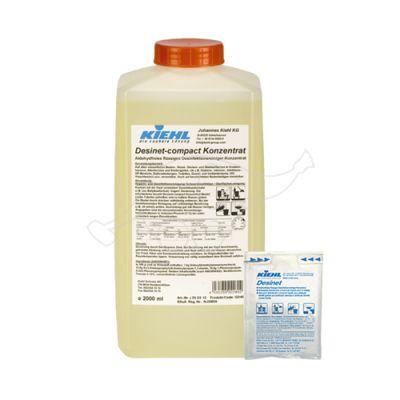Desinet - compact Concentrate 2L dezinfekcijas līdzeklis