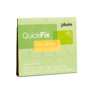 Plum QuickFix Refill ūdensizturīgie plāksteri 45 gab.